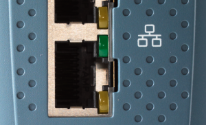 two Gbit Ethernet ports
