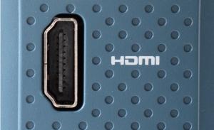 Integrated HDMI port